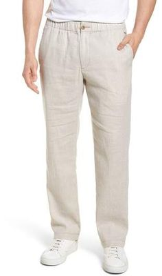 Nordstrom Online & In Store: Shoes, Jewelry, Clothing, Makeup, Dresses Tall Men Fashion, Mens Fashion Wear, Men's Fashion, Linen Drawstring Pants, Linen Pants, Man Dress Design, Well Dressed Men, Summer Shirts, Tommy Bahama