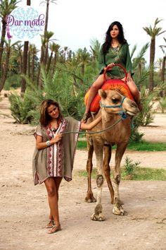 Tunic Zineb・Moroccan Blue Palace lookbook