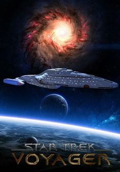 StarTrek Voyager - One of the shows that introduced me to Sci-Fi. Star Trek Tv, Star Trek Series, Star Wars, Star Trek Starships, Star Trek Enterprise, Star Trek Voyager, Science Fiction, Fiction Movies, Akira