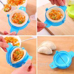 Dumpling Maker Device Home plastic Dough Press Jiaozi Ravioli Mold Mould Kitchen Cooking Pastry Tools Gadgets Hot Sale