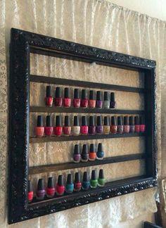 nail polish frame