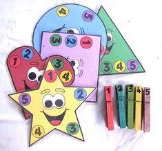 Математические игры для детей: изучаем формы, цвета и цифры