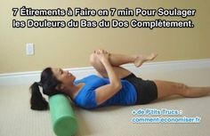 Étirements musculaires pour soulager mal de dos