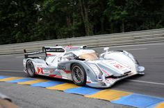 Audi's winning car at Le Mans 2012