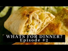 Easy Chicken Chimichanga Recipe is a deep-fried or baked burrito, stuffed with chicken, cheese and mild chilies. They are crispy from the outside. Mexican Dishes, Mexican Food Recipes, Recipe Using Leftover Chicken, Chimichanga Recipe, White Sauce Recipes, Best Guacamole Recipe, Tacos, Yum Yum Chicken, Chicken Recipes
