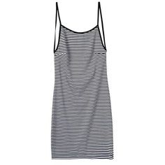 LUCLUC Black and White Striped Bodycon Dress (€19) ❤ liked on Polyvore featuring dresses, lucluc, vestidos, tops, black white stripe dress, white black striped dress, black and white dress, white and black bodycon dress and white and black striped dress