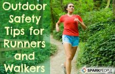 Now is the perfect time to review the steps you should take to ensure your safety when exercising outdoors.
