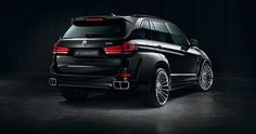 The BMW tuning kit from HAMANN gives the brawny Bavarian even more character and sportiness. Bmw F15, Vw Toureg, Tuning Bmw, Station Wagon Cars, Bmw X5 M, Mercedes Benz Gl, Bavarian Motor Works, Suv Trucks, Bmw Love