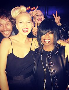 """""""Sia and Missy Elliott at The Creators Party (Feb 13). """""""
