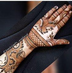 Best Arabic Mehndi Designs For Hands - Art & Craft Ideas