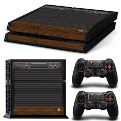 Cool Atari 2600 skin for Console Gaming Game NES SNES Sega Genesis Master System Nintendo Super Nintendo Playstation PSX Xbox One 360 Atari Dreamcast Gamecube Switch Wii Wii U All Video Games, Online Video Games, Retro Video Games, Playstation 4 Console, Playstation Games, Control Ps4, Jean Christophe, Ps4 Skins, Gaming Station