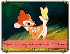 20 of the Best Disney Love Quotes - this ones actually tattooed on my back!!