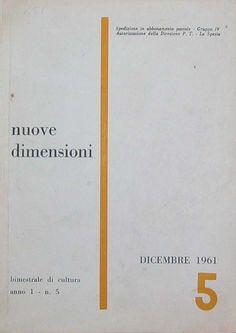 1961 Rivista nuove dimensioni