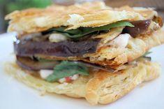 Eggplant napoleon http://www.kitchenbelleicious.com/2013/04/15/eggplant-napoleon/?utm_source=feedburner_medium=email_campaign=Feed%3A+kitchenbelleicious%2FGktK+%28Kitchen+Belleicious%29