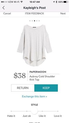 Looks cute! Kind of interested to try the cold shoulder look Stitch Fix Outfits, Fix Clothing, Clothing Ideas, Stitch Fix Fall, Stitch Fix Stylist, Dress To Impress, Style Me, Cute Outfits, Style Inspiration