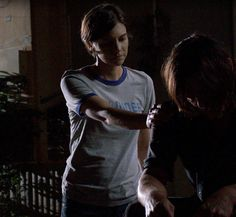 "Maggie reaches out to  Daryl; S7; ""The Other Side"""