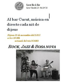 Rock, Jazz y Bossa Nova