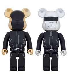 Le set de Bearbrick Daft Punk chez Artoyz - 70cm - 900€