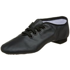 Capezio Womens CG02 SplitSole Jazz ShoeBlack75 M US -- Click on the image for additional details.(This is an Amazon affiliate link and I receive a commission for the sales)