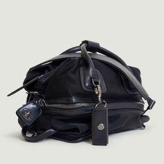The Studio Bag -gunmetal- the most desired gym to street handbag by CARAA SPORT www.caraasport.com