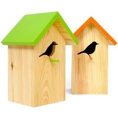 Bird birdhouses