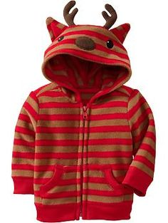 Performance Fleece Critter Hoodies for Baby | Old Navy