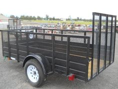 Carry-On Single Axle Utility Trailer Located at TrailersPlus Redmond - 4YMUL1014DN012732