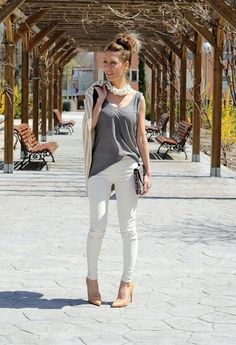WHITE DAY  , ZARA en Camisetas, Bershka en Leggings, Zara en Tacones / Plataformas