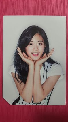 TWICE TZUYU Official Photocard PINK Ver. 2nd Album PAGE TWO Photo Card 쯔위