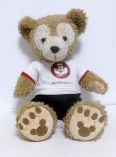 Duffy The Disney Bear Plush Stuffed Animal In Mickey Mouse Club Duffy Outfit #Disney