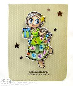 some odd girls christmas card | seasons-greetings-kristy-dalman-some-odd-girl-christmas-tree-mae