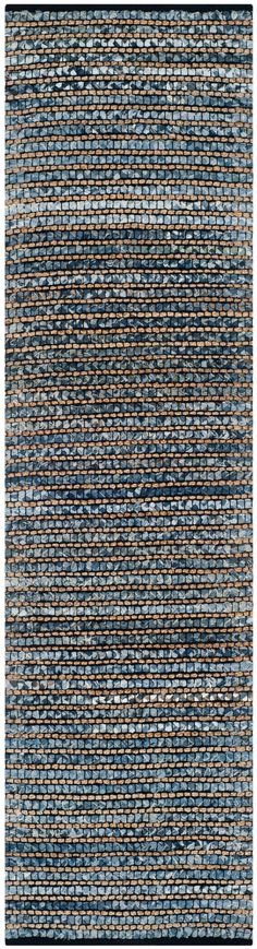 CAP365A Rug from Cape Cod collection.  Think coastal living and casual beach house style with rugs so classic they'll even work in the city.  Safavieh's natural fiber rugs are soft underfoot, textural, natural in color and woven of sustainably-harvested sisal and sea grass, or biodegradable jute fibers twice-washed for unrivaled softness and beauty.