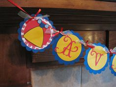 Snow White Themed Name/Birthday Banner by cutnpaper on Etsy, $16.00