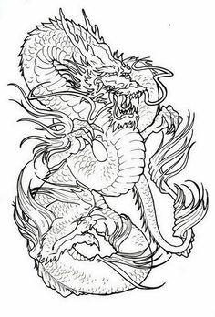138 Best Dragon Tats Images In 2019 Tattoo Japanese Dragon Tattoo