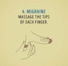 Remedies For Headache Migraine Acupressure Therapy, Acupressure Massage, Acupressure Treatment, Natural Remedies For Migraines, Natural Health Remedies, Migraine Relief, Qigong, Alternative Health, Migraine