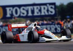 Gerhard Berger ~ Marlboro McLaren-Honda MP4 6 ~ 1991 British Grand Prix
