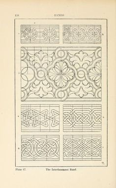 "1898 - From, ""A Handbook of Ornament"".  by Franz Sales Meyer."