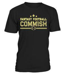 Fantasy Football Commish Funny League Draft Champion T shirt