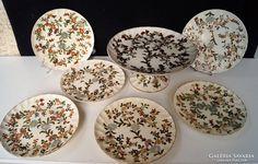 Zsolnay családjeles Süteményes készlet 1880 körül Cereal, Breakfast, Pictures, Food, Morning Coffee, Photos, Essen, Meals, Yemek