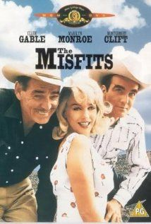 The Misfits Marilyn Monroe's last film. The paddleball scene, the mustangs, Clark Gable, Marilyn Monroe, Montgomery Clift. See it in black and white. Classic Hollywood, Old Hollywood, Marilyn Monroe Movies, Marilyn Film, Marylin Monroe, Francois Truffaut, John Huston, Montgomery Clift, Old Movie Posters
