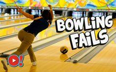 Bowling fails! Incidenti divertenti al bowling