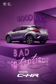 Turn heads and handle corners. It's a crossover with agile handling and undeniable style, and it's up for almost anything. If you are. Learn more Toyota Dealership, My Dream Car, Dream Cars, Hot Cars, Toyota C Hr, Car Advertising, Medium Hair, Graphic, Crossover