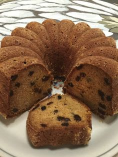 Fruit Bread, Banana Bread, Baked Donuts, Little Cakes, Christmas Baking, Christmas Recipes, Trifle, Coffee Cake, Sweet Recipes