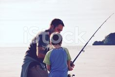 Father and Son Fishing royalty-free stock photo Royalty Free Images, Royalty Free Stock Photos, The World Race, Interracial Marriage, Kiwiana, Winter Sun, Father And Son, Image Now, Sons