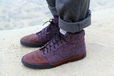 Harris Tweed + Nike