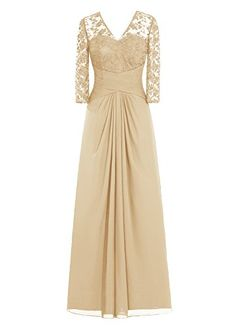 Dresstells® Long Chiffon Bridesmaid Dress Lace Mother of Bride Party Dress Champagne Size 2 Dresstells http://www.amazon.com/dp/B013SYU0T0/ref=cm_sw_r_pi_dp_g6jJwb1W59WT6