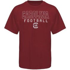 ca7dc61ddfe South Carolina Gamecocks Frame Football T-Shirt - Garnet