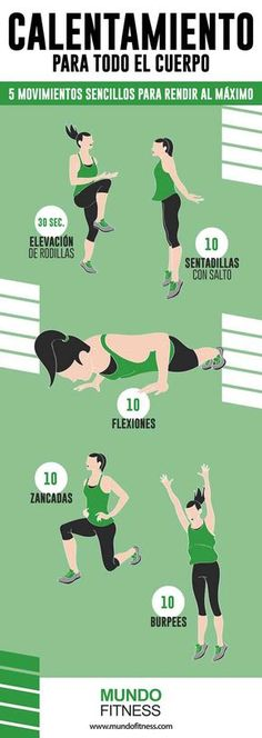 WarmUp Exercises – Ejercicios de Calentamiento - Blue Tutorial and Ideas Workout Warm Up, Hiit, Excercise, Gym Workouts, Swimming Workouts, Swimming Tips, Health Fitness, Kids Fitness, Planet Fitness