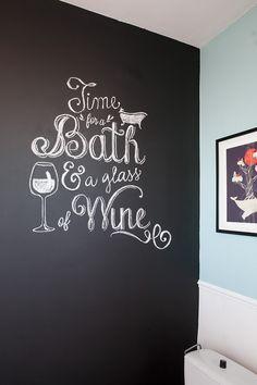 DIY – Écrire sur un mur en ardoise comme les pros