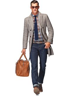 Suit Supply Light Brown Linen Overcoat.   Do I need this? No. Want it anyway. Maybe good for Bay Area weather?